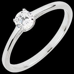 <a href=https://it.edenly.com/gioielli/anello-solitario-purezza-preziosa,3068.html><span class='nom-prod-slide'>Anello Solitario Purezza preziosa - Oro bianco - 18 carati - Diamante - 0.30 carati</span><br><span class='prixf'>1490 &#x20AC;</span> (-53%) </a>