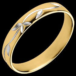 <a href=https://en.edenly.com/jewels/wedding-ring-printed-leaves,3074.html><span class='nom-prod-slide'>Freshness wedding ring - Ivy engraved - Yellow gold - 18 carat</span><br><span class='prixf'>£ 349</span> (-28%) </a>