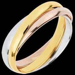 <a href=http://de.edenly.com/schmuck/trauring-dreifarbige-ringe,3080.html><span class='nom-prod-slide'>Trauring Saturn Rotation - Mittleres Modell - Dreierlei Gold, 3 Ringe</span><br><span class='prixf'>590 &#x20AC;</span> (-37%) </a>