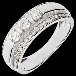 <a href=https://it.edenly.com/gioielli/anello-trilogy-sacro-oro-bianco-pave-77-carati-57-diamanti,1087.html><span class='nom-prod-slide'>Anello Fantasmagoria - Trilogia semi pavé - Oro bianco - 18 carati - 57 Diamanti - 0.77 carati </span><br><span class='prixf'>1690 &#x20AC;</span> (-44%) </a>