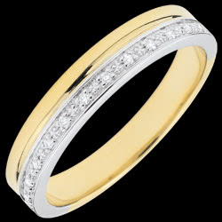 <a href=https://www.edenly.com/bijoux/alliance-elegance-or-jaune-diamants,3459.html><span class='nom-prod-slide'>Alliance Elégance diamants - or blanc et or jaune 18 carats</span><br><span class='prixf'>440 &#x20AC;</span> (-34%) </a>