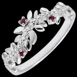 <a href=http://en.edenly.com/jewels/ring-enchanted-garden-foliage-royal-white-gold-dia,3494.html><span class='nom-prod-slide'>Enchanted Garden Ring - Royal Foliage - White gold, diamonds and rhodolites - 18 carats</span><br><span class='prixf'>£ 339</span> (-37%) </a>