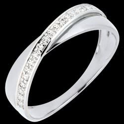 <a href=https://en.edenly.com/jewels/twice-ring-acrobat-white-gold,2198.html><span class='nom-prod-slide'>Saturn Duo Wedding Ring - diamonds - White gold - 9 carat</span><br><span class='prixf'>£ 169</span> (-17%) </a>