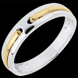<a href=https://en.edenly.com/jewels/wedding-ring-hercules-white-gold-and-yellow-gold,664.html><span class='nom-prod-slide'> Promise Wedding Ring - all gold - White gold, Yellow gold - 9 carats</span><br><span class='prixf'>£ 169</span> (-27%) </a>