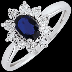 <a href=https://en.edenly.com/jewels/illusionary-daisy-sapphire-ring,2590.html><span class='nom-prod-slide'>Eternal Edelweiss Ring - Daisy Illusion - Sapphire and Diamonds - 18 carat White Gold</span><br><span class='prixf'>£ 439</span> (-47%) </a>