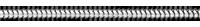 Chaîne serpent or blanc 45 cm - 9 carats