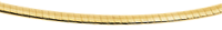 Chaîne Omega or jaune - 42 cm
