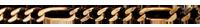 Chaîne Figaro or jaune - 42 cm