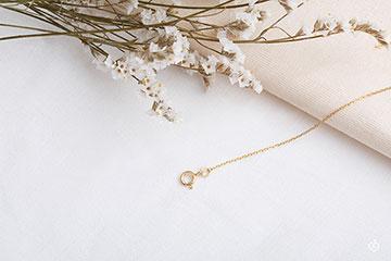 Fine Yellow Gold 42cm Rolo Chain