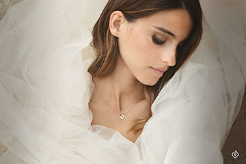 Necklace Folding Heart - 3 golds