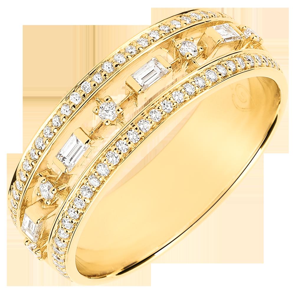 prix d'une bague en or 18 carats