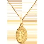 Medaille Wonderlijk - 18 karaat geelgoud