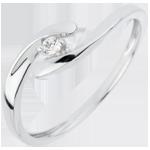 Juweliere Solit�r das Kostbarer Kokon - Liebste - 18 Karat