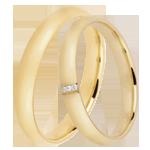 ventes Duo d'alliances Dune 3 diamants