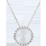 bijouterie Collier Elisée - 21 diamants