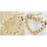 Boucles d'oreilles Coeurs Zadig or jaune 9 carats