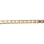 Fine Yellow Gold 42cm Venetian Chain