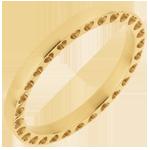 Alianza En Mi Corazón - oro amarillo 18 quilates
