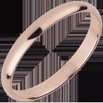Alianza oro rosa - 18 quilates