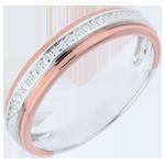 Alianza - Romanticismo - oro rosa oro blanco - 18 quilates