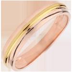 cadeau femme Alliance Hélios or rose - or jaune