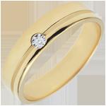 ventes Alliance Olympia Diamant - Moyen modèle - or jaune