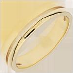 Alliance Olympia - Petit modèle - or jaune 18 carats