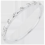 vente en ligne Alliance Oriane - or blanc 18 carats