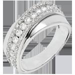 gioielli oro Anello Destino - Victoria - Oro Bianco - 18 carati - Diamanti - 0.79 carati