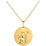 Angel Raphael Medal with the star - 16mm