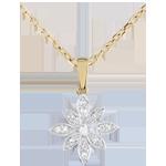 Juwelier Anhänger Sternenbild Blume