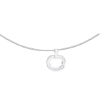 Anhänger Weissgold und Diamant - Diapple mini