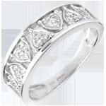 regalo mujer Anillo Destino - Clotilda - oro blanco