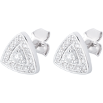 gifts AP1510 - White Gold and Diamond Premier Earrings