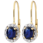 gift woman Apolline Sapphire Earrings