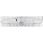 Armband Frische - Anemone- 18 Karat Weißgold und Diamanten