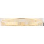 Armband Heiliger Urwald - Diamant - gebürstetes Gelbgold 9 Karat