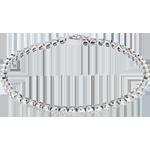 Hochzeit Armband Klunker in Weissgold - 2 Karat - 50 Diamanten