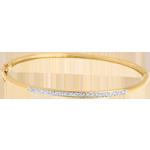 Geschenke Armreif Diorama in Gelbgold - 11 Diamanten