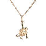 Baby turtle - small - yellow gold - 9 carat