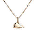 buy on line Baby Whale - large model - yellow gold