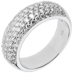 achat Bague Constellation - Amour Sidéral - 1.57 carats - or blanc 18 carats