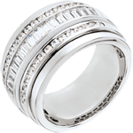 cadeaux femmes Bague Féérie - Voie Lactée - 1.58 carats - 48 diamants