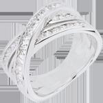 mariages Bague Grande Saturne - or blanc - 1.37 carats