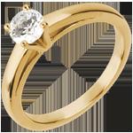 acheter Bague sur mesure 30220 - solitaire diamant 0.5 carat