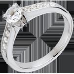 bijoux or Bague sur mesure 30243 - solitaire 0.5 carat