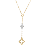 Bi-colour Gold and Diamond Augusta Necklace