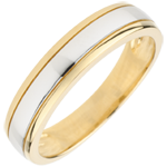 gifts Bicoloured Wedding Ring Horizon