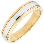 wedding Bicoloured Wedding Ring Horizon