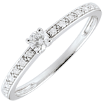 buy Boreal Solitaire Ring - 0.09 carat